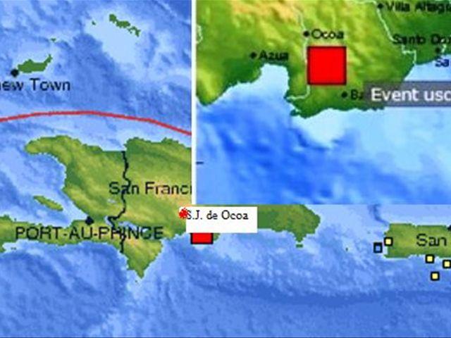 Quake Rattles Dominican Republic - Where is the dominican republic located