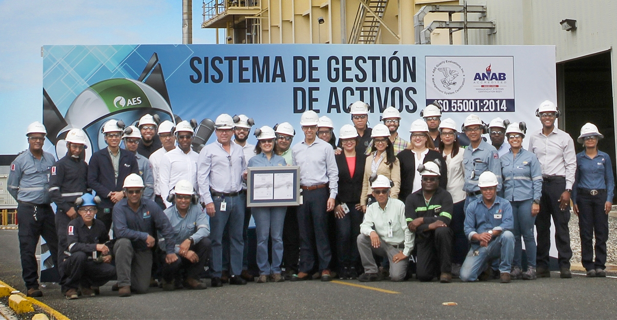 Aes dominicana certifies asset management system under iso aes dominicanas three power plants certified their asset management system under the iso 55001 2014 standard making those companies the first to take the 1betcityfo Gallery