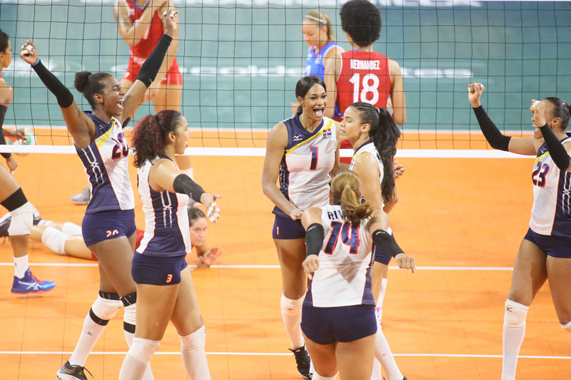 Dominicans crush Colombia, retain volleyball crown, EFE ...
