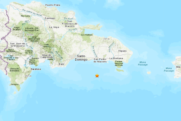 4.4 Quake Jolts Eastern Dominican Republic