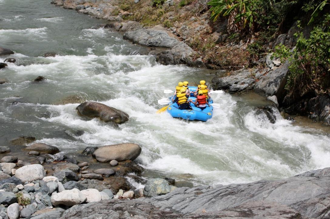 Go rafting at Jarabacoa